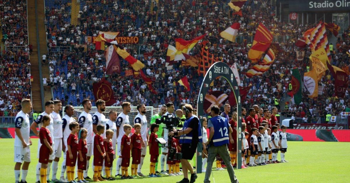Formacionet zyrtare, Chievo – Roma
