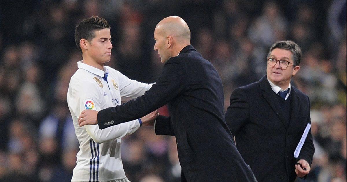 James: Asnjëherë nuk kam pasur problem me Zidanen, Ancelotti ndër trajnerët më të mirë që kam pasur