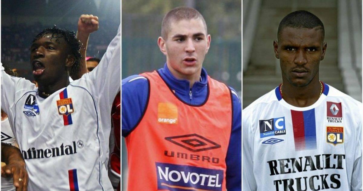 Lyon aktualisht me shumë talente – dhjetë lojtarët e mëdhenj që kanë luajtur për këtë klub