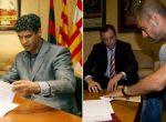 Rinovimi i kontratave të trajnerëve në mes të sezonit i sjell trofe Barcelonës, Guardiola ishte i fundit që rinovoi