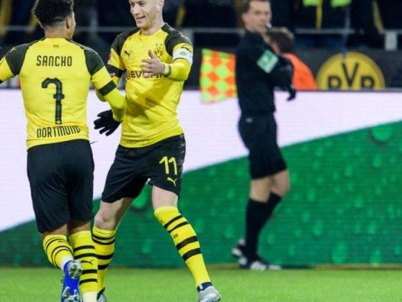 Sancho shkruan historinë në Bundesliga