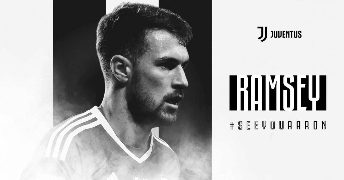 Zyrtare: Aaron Ramsey lojtar i Juventusit
