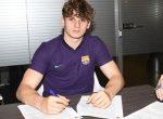 Zyrtare: Labinot Kabashi vazhdon kontratën me Barcelonën, katalunasit i vendosin edhe klauzolë të madhe të largimit
