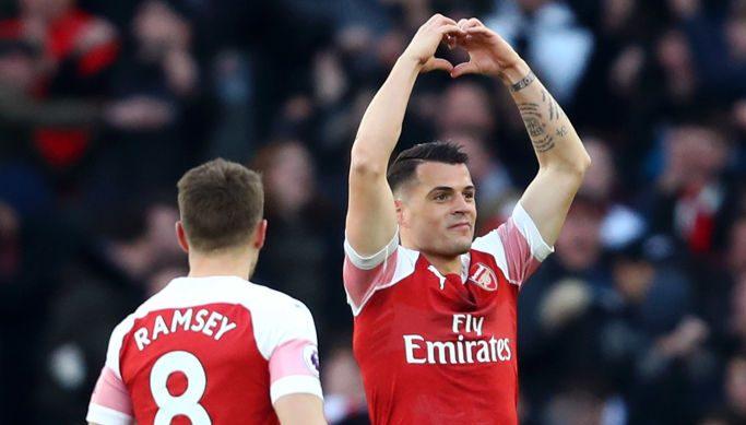 Arsenal 2-0 Man Utd: Notat e lojtarëve, Xhaka më i miri
