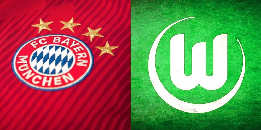 Bayern – Wolfsburg, formacionet zyrtare