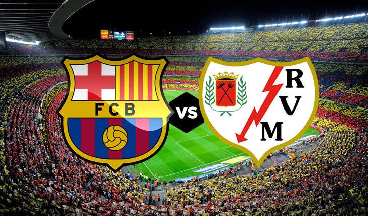 Formacionet zyrtare: Barca kërkon fitore ndaj Rayo Vallecanos