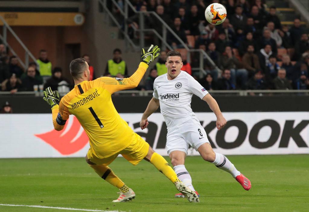 Notat e lojtarëve, Inter 0-1 Eintracht: Handanovic ruan nderin e italianëve