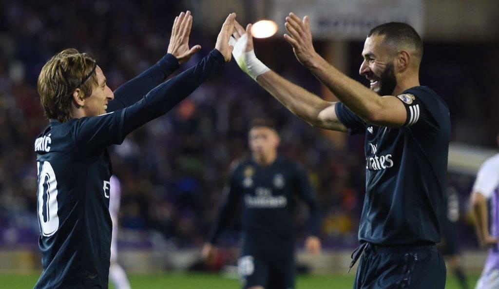 Valladolid 1-4 Real Madrid: Notat e lojtarëve, Benzema ylli