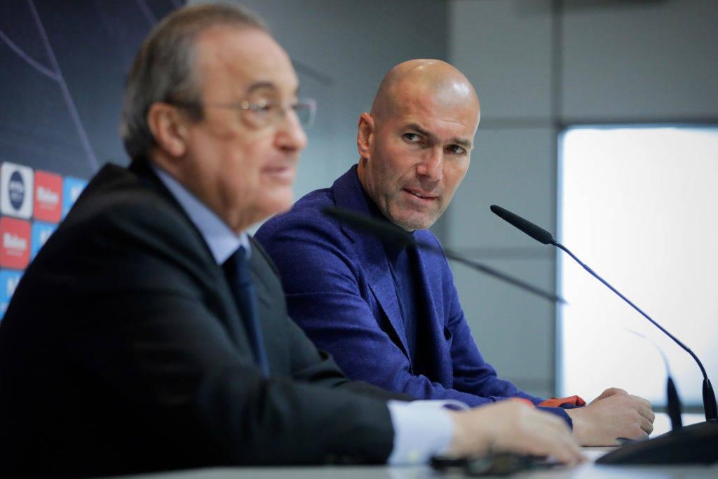 Zyrtare: Zidane rikthehet në postin e trajnerit të Real Madridit