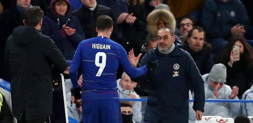 Roma merr Sarrin dhe Higuainin nga Chelsea?