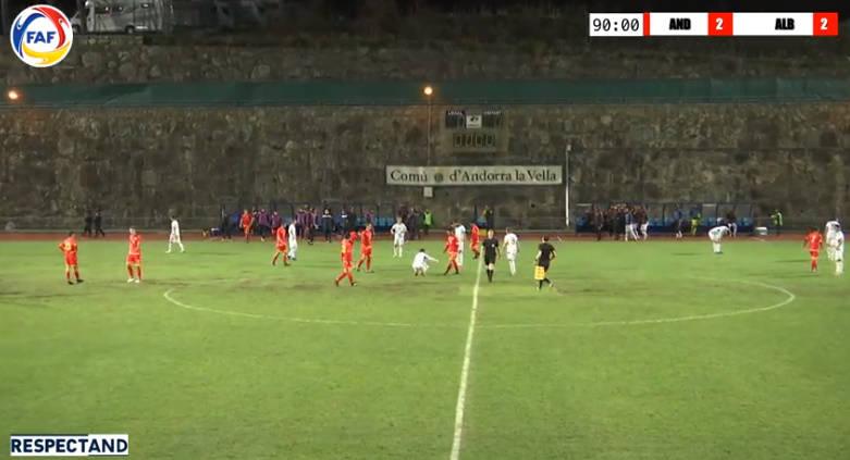U21/ Shqipëria për turp, barazojmë me vështirësi në Andorra