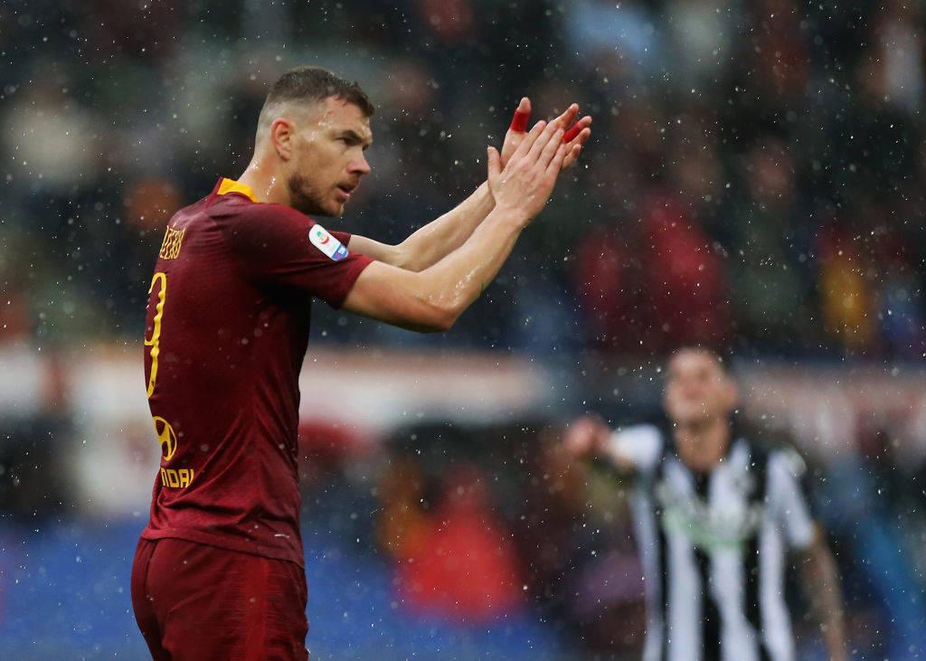 Dzeko shënon në Olimpico pas një viti: Ishte gol i rëndësishëm, duam pozitën e katërt