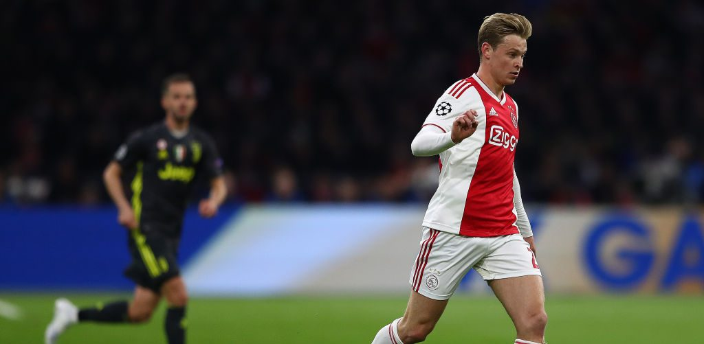 Frenkie de Jong përfshihet në skuadrën e Ajaxit për ndeshjen edytë ndaj Juves