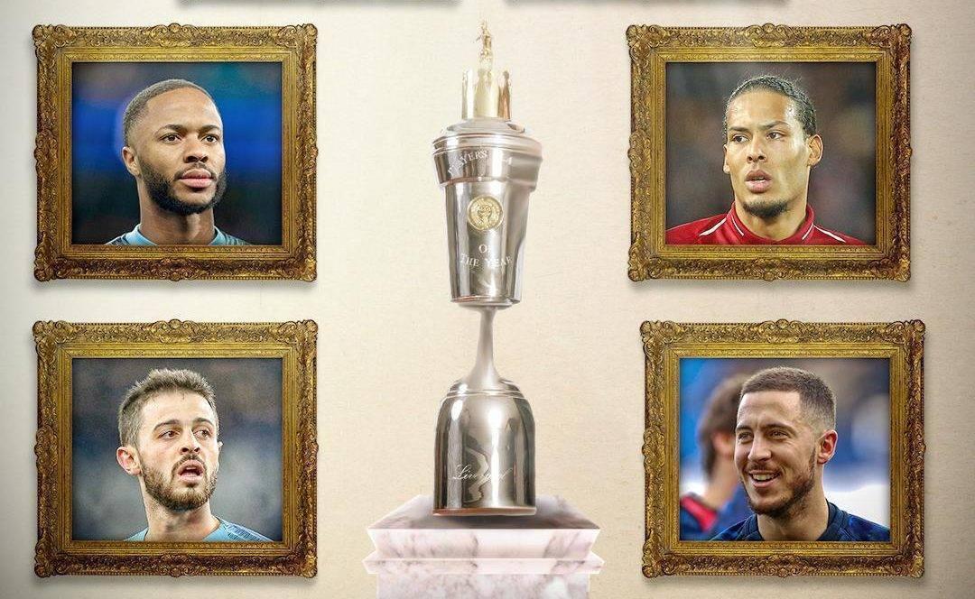 Gjashtë lojtarët e nominuar për çmimin 'Lojtari i Vitit' në Ligën Premier, mungon Salah
