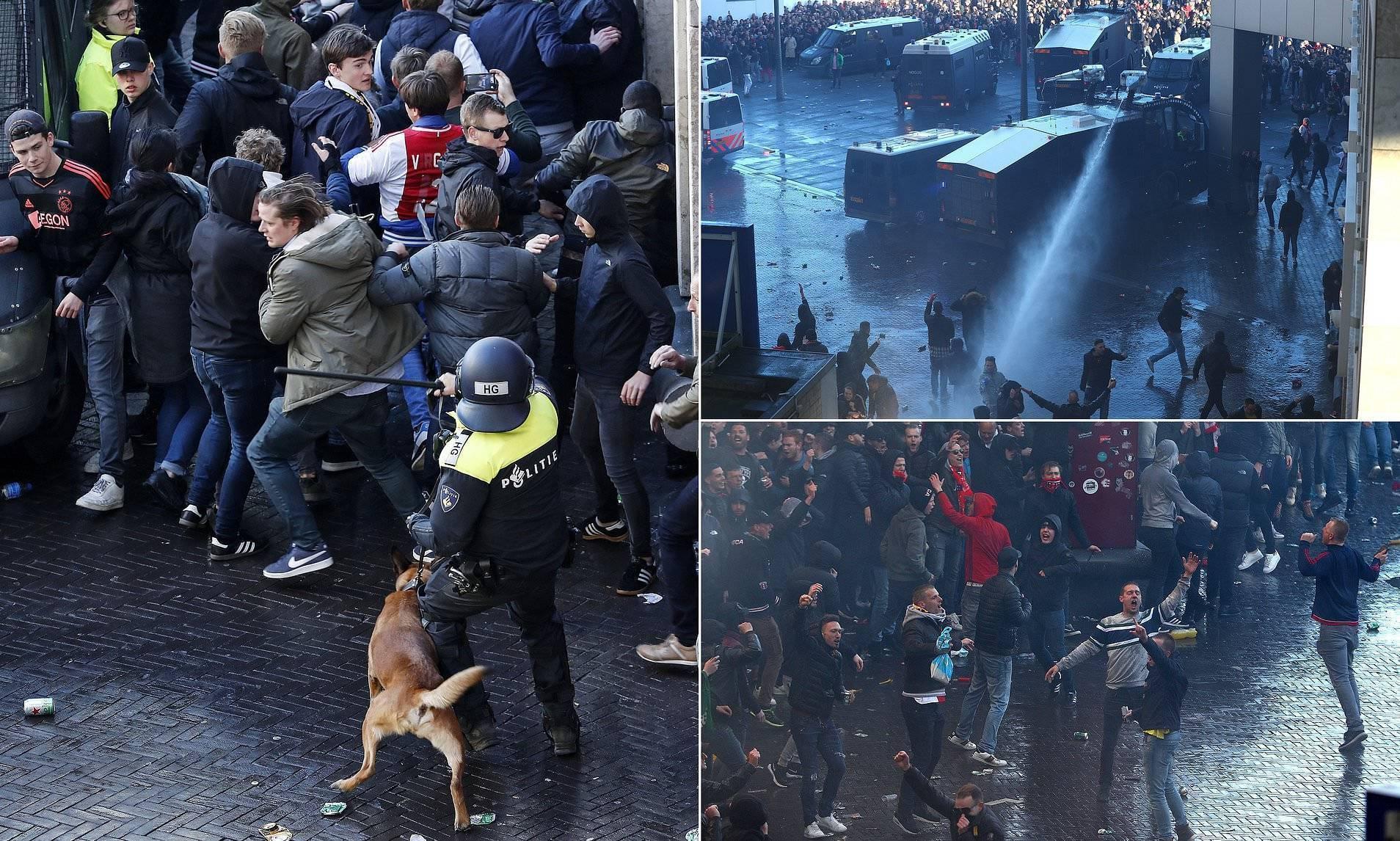 Juve-Ajaks alarm huliganësh, policia ndalon 5 ultras të armatosur