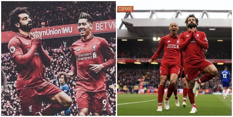 Kuptimi pas festimit të Salah ndaj Chelseat, tifozët e duan