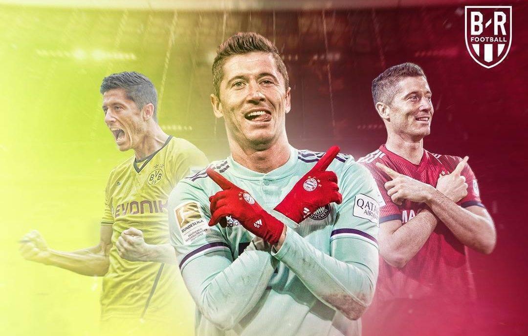 Lewandowski bëhet lojtari i parë jo-gjerman që arrin shifrën e 200 golave në Bundesliga