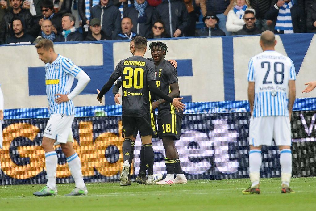 Moise Kean thyen rekordin e Balotellit në Serie A