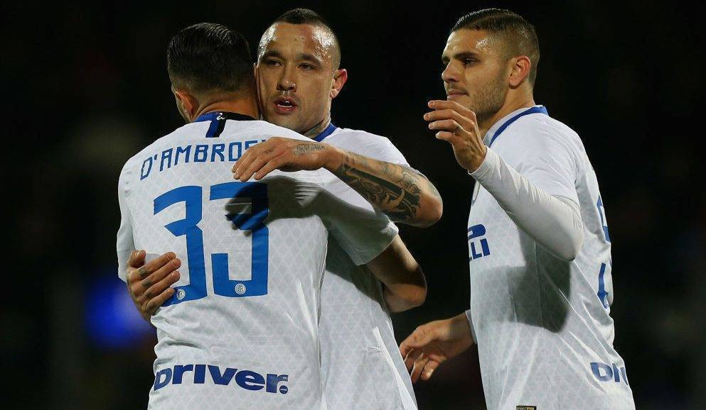 Notat e lojtarëve: Frosinone 1-3 Inter, vlerësohen D'Ambrosio dhe Icardi