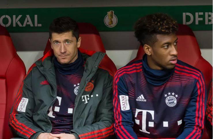 Përleshje në stërvitjen e Bayernit – grushte dhe ofendime mes Lewandowskit dhe Comanit