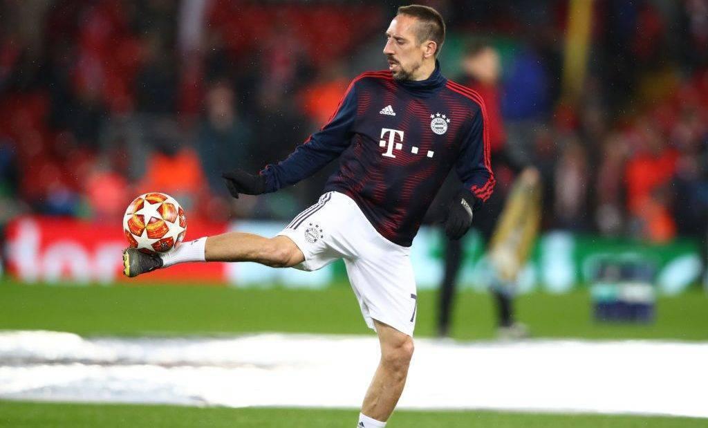Ribery pritet të largohet në fund të sezonit nga Bayerni