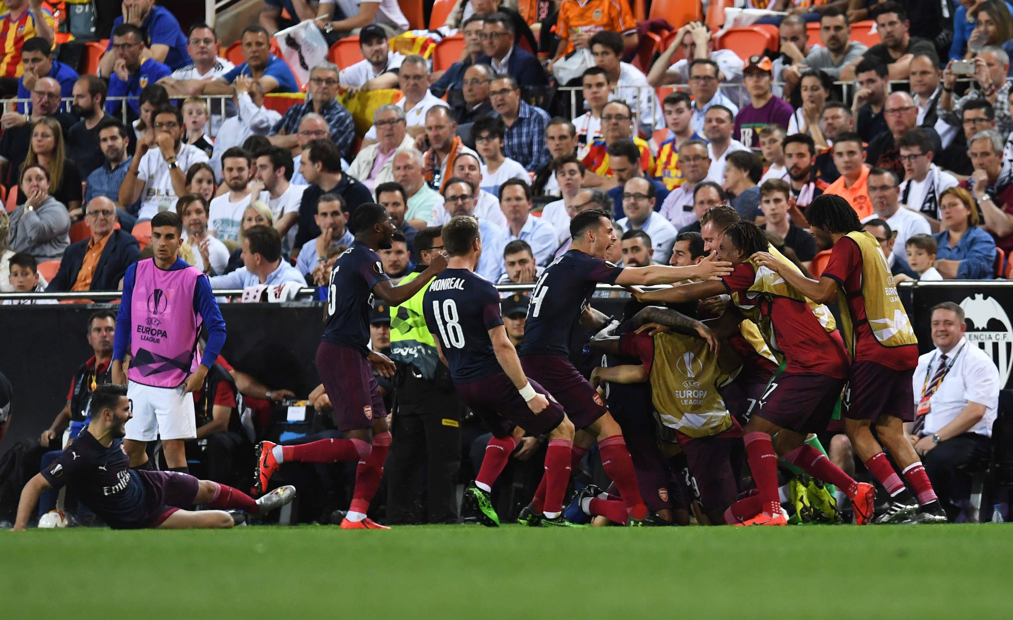 Arsenali fiton edhe në Mestalla, Xhaka e Mustafi kalojnë në finale të Ligës së Evropës