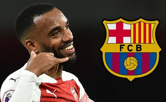 Barcelona gabimisht e prezanton Lacazetten si lojtarin e vet