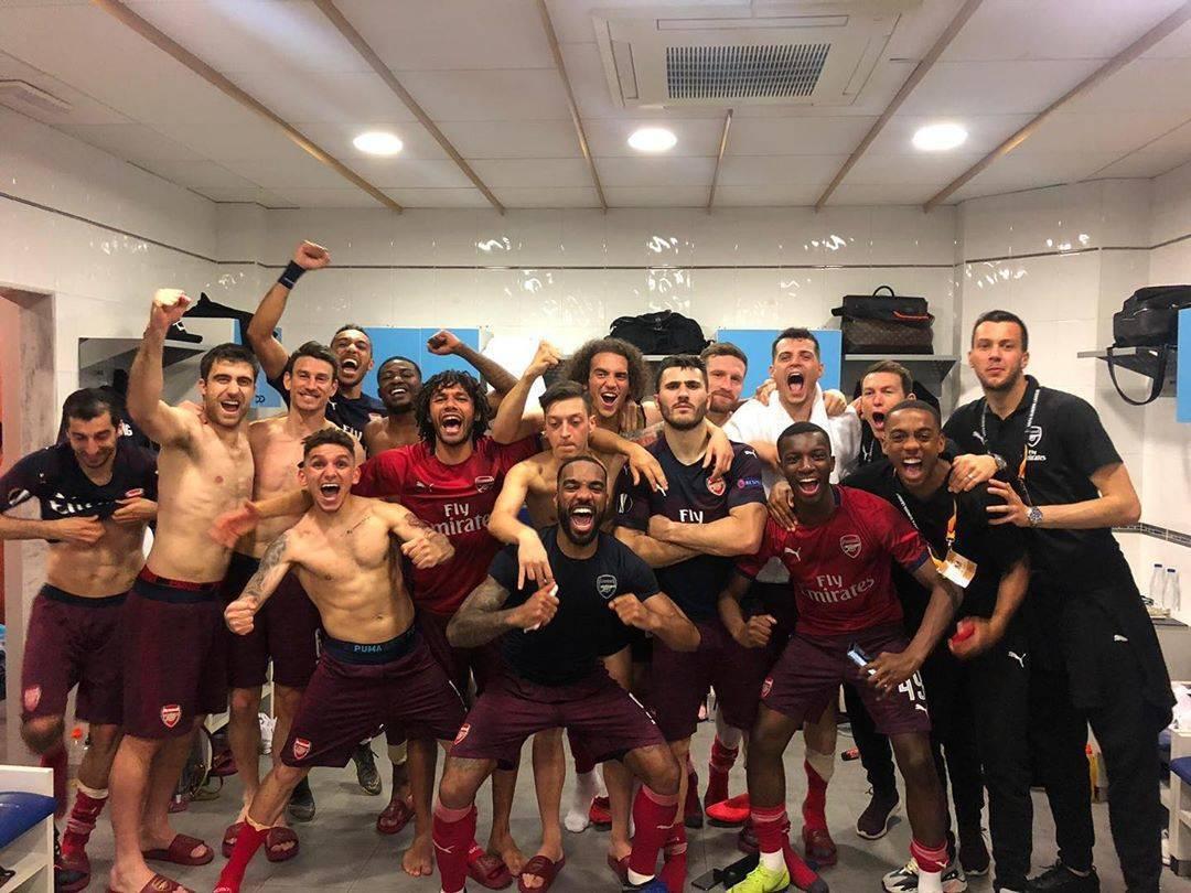 Shkodran Mustafi e Granit Xhaka: Çfarë ndjenje, jemi në finale të Bakus