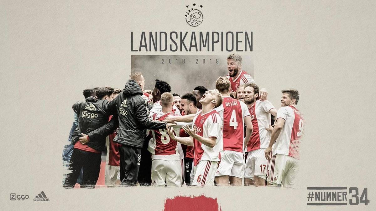 VIDEO/ Ajax kampion në Holandë, Amsterdami shpërthen në festë