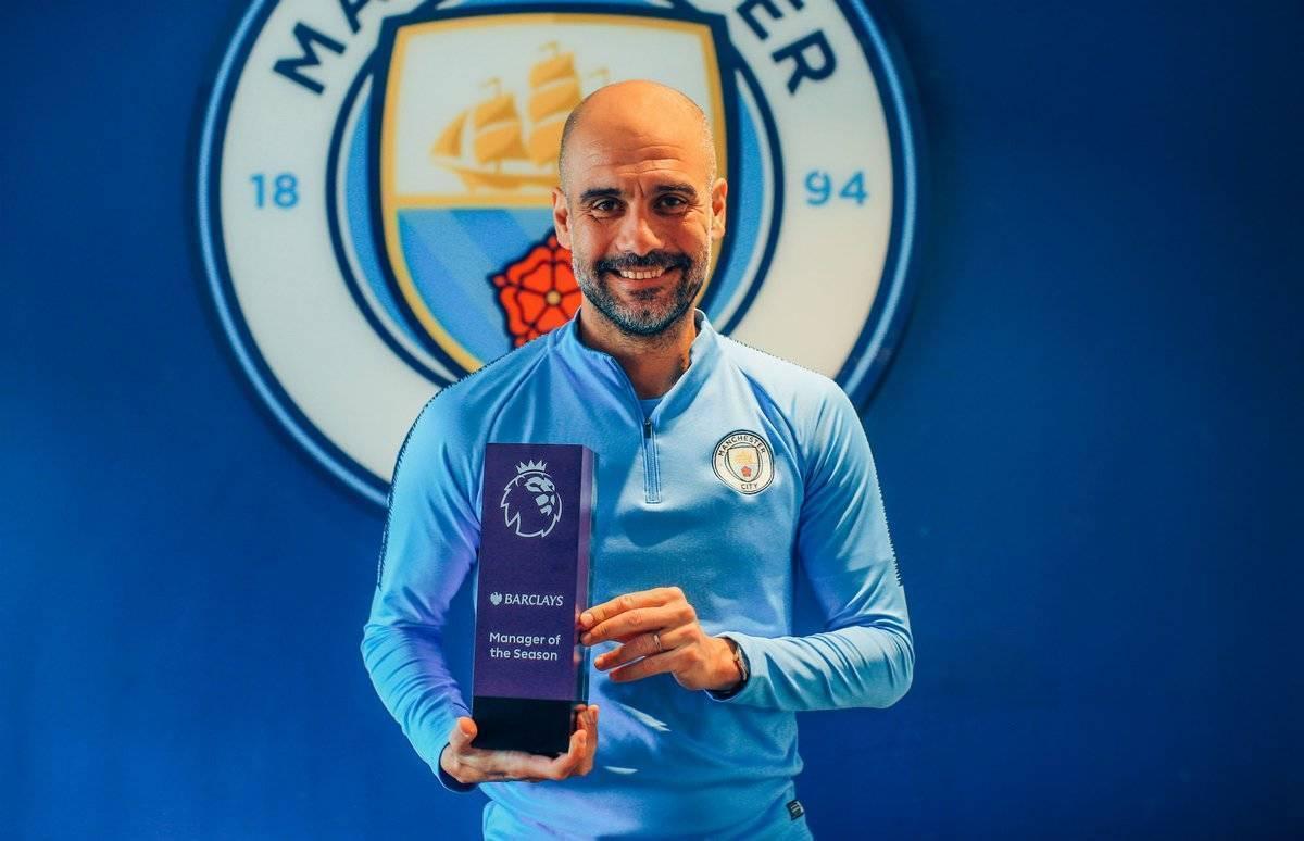 Zyrtare: Guardiola shpallet trajneri i vitit në Ligën Premier