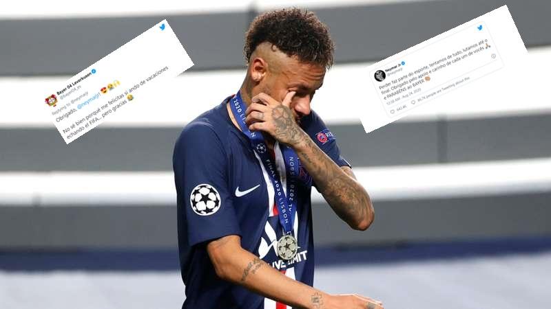 Gafa e Neymarit: Uron ekipin e gabuar për triumfin në Ligën e Kampionëve