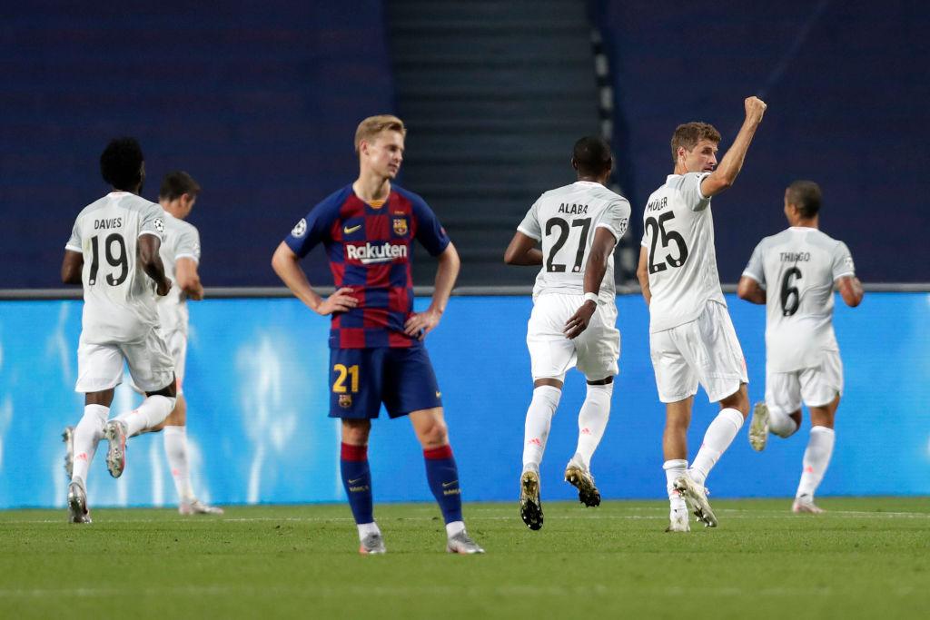 Muller zbulon një detaj nga ndeshja me Barcelonën: Ata dolën 10 minuta pas nesh në nxehje, ishin të qetë