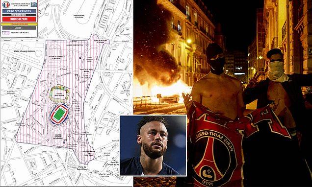 Policia franceze izolon për 16 orë tifozët e PSG-së që dogjën çfarë panë në qytet