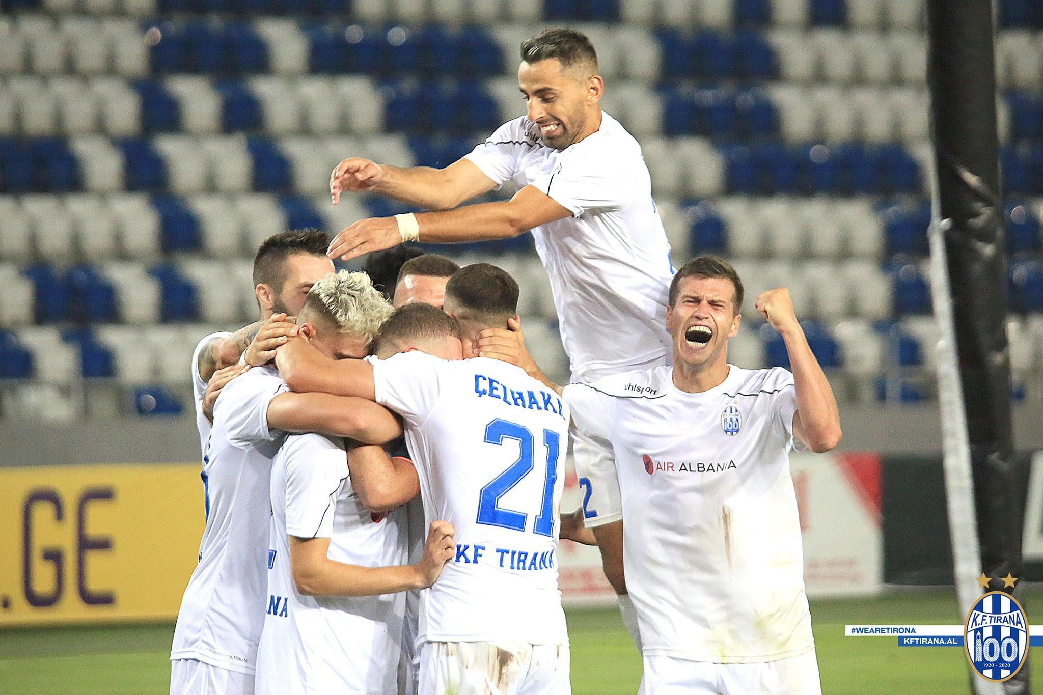 Tirana kërkon suksesin e radhës në Ligën e Kampionëve, formacioni zyrtar
