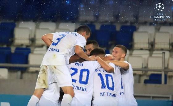 Tiranës i buzëqesh fati, luan direkt në Play Off të Ligës së Evropës