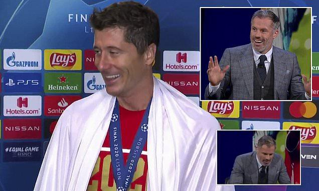 Veprimi qesharak i Carrgaher që pretendoi kinse po e përkthente intervistën e Lewandowskit