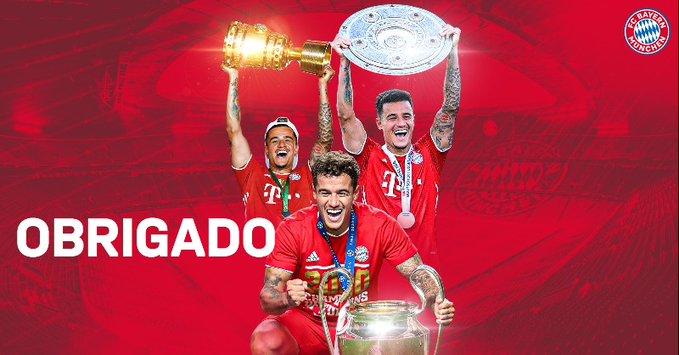 Bayern Munichu konfirmon rikthimin e Coutinhos te Barcelona