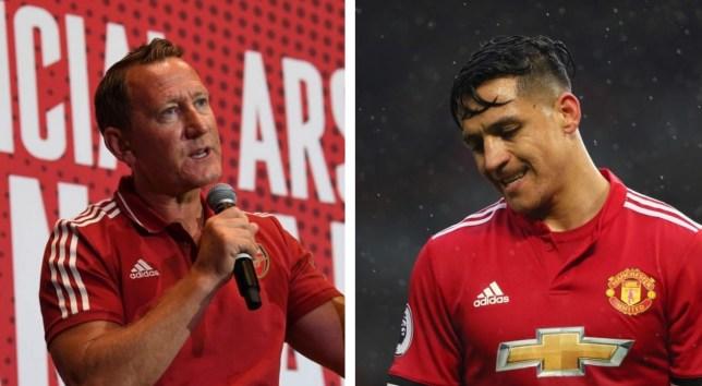 Legjenda e Arsenalit, Parlour kritikon Sanchezin pas deklaratave se deshi të largohej nga Unitedi pas vetëm një stërvitjeje