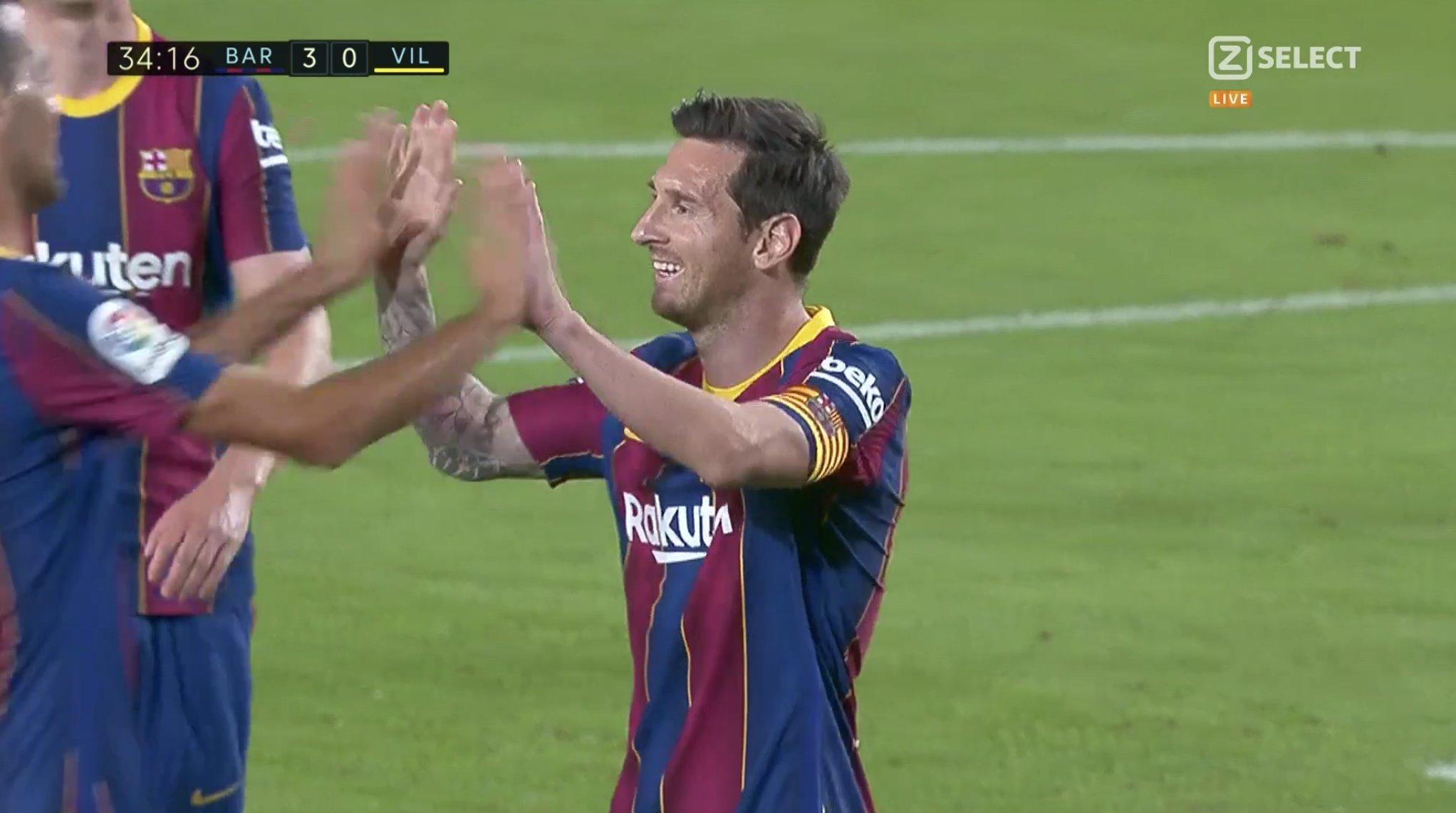 LIVE| Barcelona e papërmbajtshme, Mesi shënon goli e tretë (VIDEO)