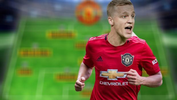 Si mund të rreshtohet Unitedi me Van de Beekun në formacion