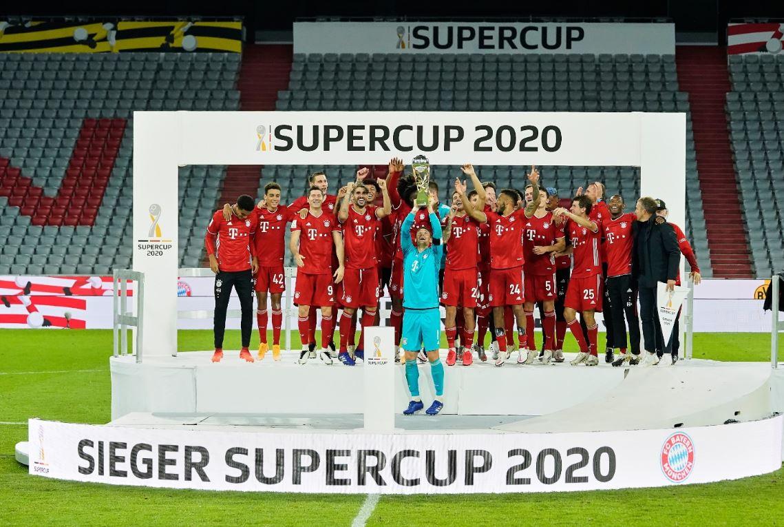 VIDEO/ Luhet 94 minuta, por gjithmonë fiton… Bajerni! Skuadra e Flik triumfon ndaj Dortmundit dhe merr Superkupën