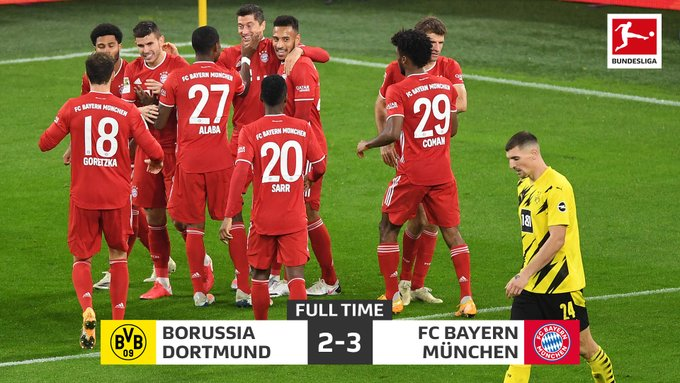 VIDEO/ VAR-i i anulon 2 gola Levandovskit! Kampionët e Bajernit të papërmbajtshëm, triumfojnë në klasiken ndaj Dortmundit