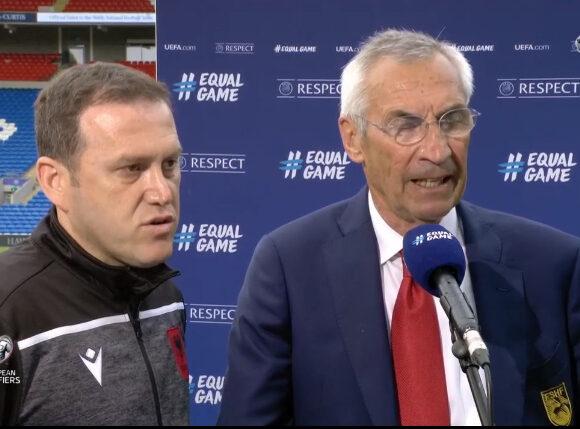 Barazimi me Uellsin, trajneri i Shqipërisë, Edy Reja: Mbrojtja shumë mirë, çaloi kundërsulmi